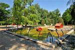 Parque del Retiro, Estanques gemelos de los Patos de la antigua Casa de Fieras
