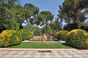Parque del Retiro, Fuente de la Gaviota