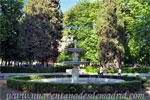 Parque del Retiro, Fuente en la Plaza de Mármol