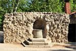 Parque del Retiro, Fuente y Casa de la Salud