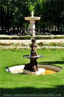 Parque del Retiro, Fuente del pequeño tritón