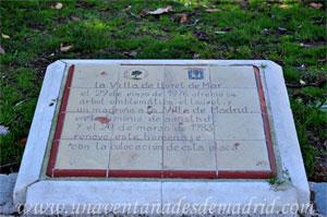 Parque del Retiro, Laurel y Madroño