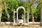 Parque del Retiro, Monumento a los Hermanos Álvarez Quintero
