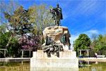 Parque del Retiro, Monumento al General Martínez Campos