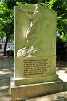 Parque del Retiro, Luis de Góngora, Monumento a