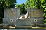 Parque del Retiro, Monumento a Santiago Ramón y Cajal