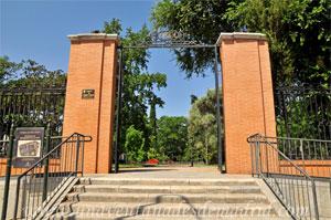 Parque del Retiro, Puerta de Herrero Palacios