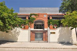 Parque del Retiro, Puerta del Pabellón de los Jardines de Cecilio Rodríguez