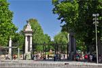 Parque del Retiro, Puerta de la Independencia