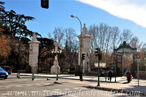 Parque del Retiro, Puerta de Madrid