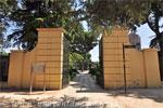 Parque del Retiro, Puerta Oeste secundaria de los Jardines de Cecilio Rodríguez