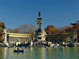 Parque del Retiro, Monumento a Alfonso XII