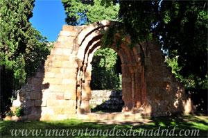 Parque del Retiro, Ruinas de la Ermita de San Isidoro