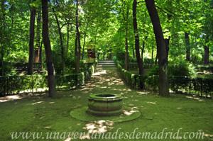 El Jardín de los Planteles en El Retiro, Fontín Norte