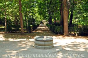 El Jardín de los Planteles en El Retiro, Fontín Sur