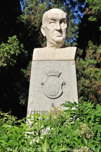 Retiro, Jardines de Cecilio Rodríguez, Busto de Cecilio Rodríguez