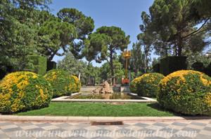 Retiro, Jardines de Cecilio Rodríguez, Fuente de la Gaviota