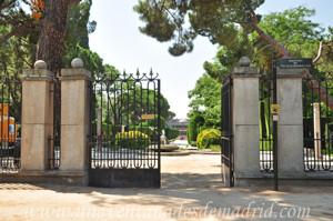 Retiro, Jardines de Cecilio Rodríguez, Puerta Norte