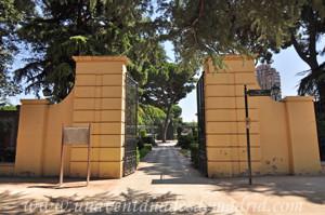 Retiro, Jardines de Cecilio Rodríguez, Puerta Oeste secundaria