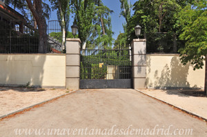 Retiro, Jardines de Cecilio Rodríguez, Puerta secundaria