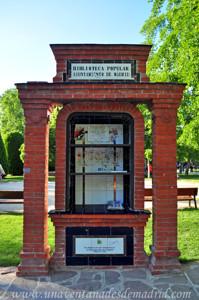 Retiro, Biblioteca Popular de los Jardines del Arquitecto Herrero Palacios