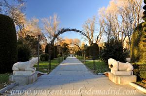 Retiro, Jardines de Herrero Palacios