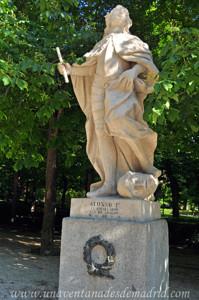 Retiro, Estatua de Alfonso I el Batallador