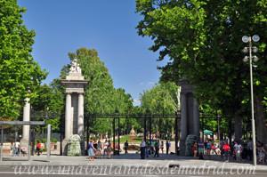 Retiro, Puerta de la Independencia