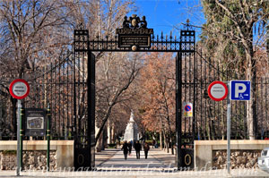Retiro, Puerta de la América Española