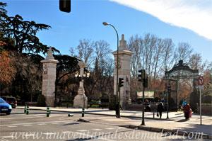 Retiro, Puerta de Madrid