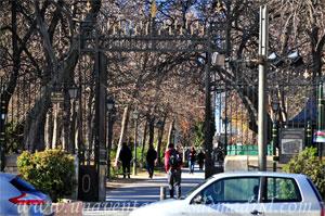 Retiro, Puerta de la Reina Mercedes