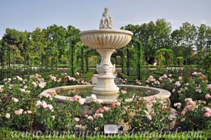 Jardines de la Rosaleda en El Retiro, Fuente del Amorcillo o de Cupido