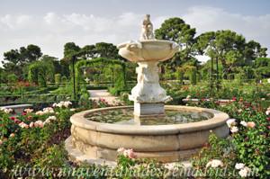Jardines de la Rosaleda en El Retiro, Fuente del Faunito o del Fauno