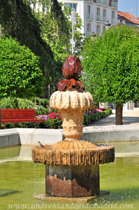 Retiro, Jardín del Parterre, surtidor de las Fuentes de la Alcachofa