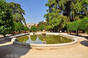 Retiro, Jardín del Parterre, Fuentes de la Alcachofa