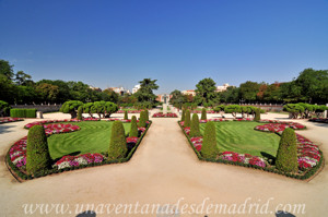 Retiro, Jardín del Parterre