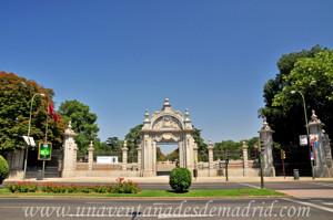Retiro, Jardín del Parterre, Puerta de Felipe IV
