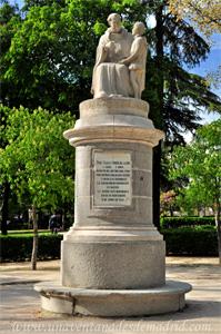 Retiro, Monumento a Fray Pedro Ponce de León