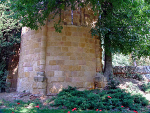 Madrid, Ábside de las ruinas de la Ermita de San Pelayo o de San Isidoro