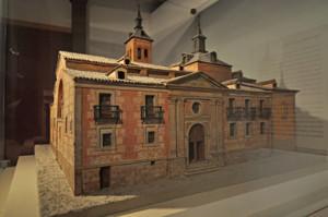 Madrid, Maqueta de la Iglesia de Santa María de la Almudena en el Museo de San Isidro