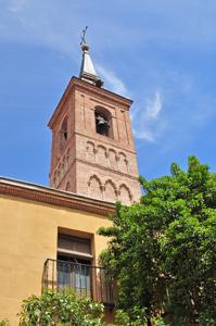 Madrid, Lado Sur de la Torre de la Iglesia de San Nicolás