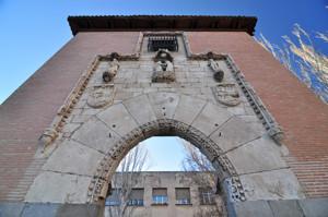 Madrid Siglo XV, Detalle de la Portada del Hospital de la Latina