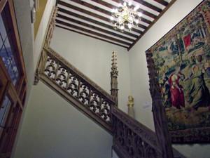 Madrid Siglo XV, Escalera del Hospital de la Latina