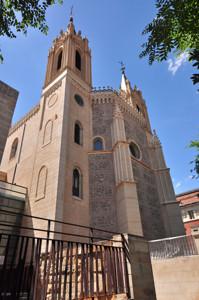 Madrid Siglo XV, Torres y Ábside de la Iglesia de San Jerónimo el Real