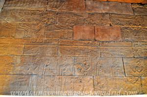 Templo de Debod, Capilla de Adijalamani, pared derecha
