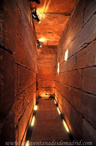 Templo de Debod, Corredor del Muro Sur