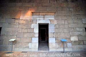 Templo de Debod, Vestíbulo