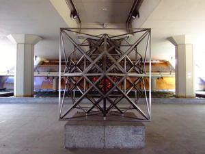 Museo de Arte Público, Estructuración hiperpoliédrica del espacio