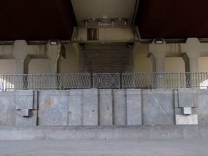 Museo de Arte Público, Volúmen-Relieve-Arquitectura