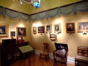 Museo del Romanticismo, Sala VIII, Sala de los Costumbristas Madrileños